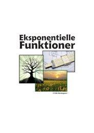 Eksponentielle funktioner - matematikfysik