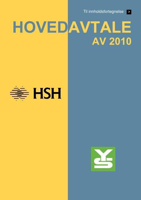 Hovedavtale YS HSH 2010