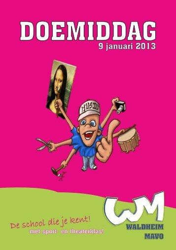 Download het doedagmiddagboekje (PDF) - Waldheim