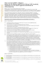 Besluit van de Vlaamse regering van 6 februari
