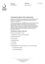 Anbudsbegäran gällande stall för upphittade djur - Ålands miljö