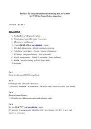 Referat fra KDAK Bestyrelsesmøde 6