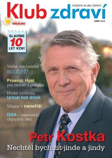 Září 2008 PDF - Klub zdraví Walmark