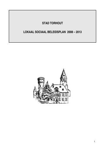 stad torhout lokaal sociaal beleidsplan 2008 – 2013 - Vlaanderen.be