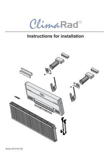 Installatie instructie horizo... - Climarad