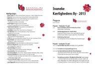 Svaneke Kærlighedens By - 2013