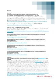 Medieret Generelt: Forslag til Lov om ændring af lov ... - Bech-Bruun