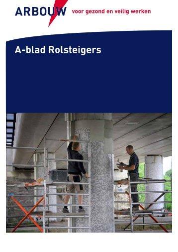 A-blad Rolsteigers - Arbouw