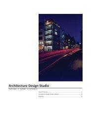 Architecture Design Studio - Danish Institute for Study Abroad