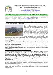 koninklijk belgisch instituut tot verbetering van de biet vzw