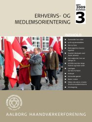 ERHVERVS- OG MEDLEMSORIENTERING - Håndværksrådet