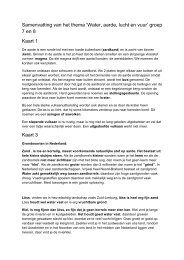 Infoboekje Topondernemers Thema 9 Water Aarde ... - Springplank