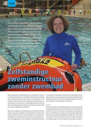 Zelfstandige zweminstructeur zonder zwembad - Swimfantastic