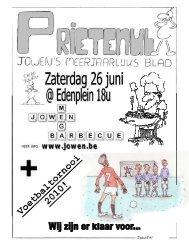 Prietenul 3: Mei 2010 - Chiro Jowen