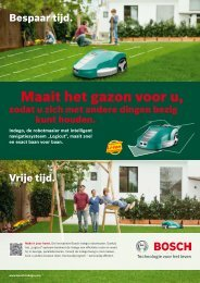Productbrochure - Bosch Indego