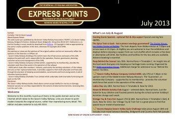 Express Points Web Round Up - SVRLive