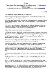 Ref. af møde i Tørring 26.jan. 2009 - Grundejerforeningen Vejers ...