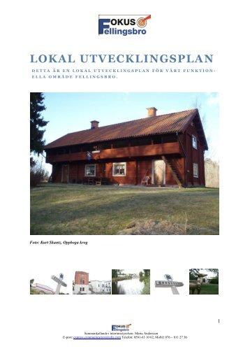 Visionsplan för Fellingsbro… - Fellingsbros portal