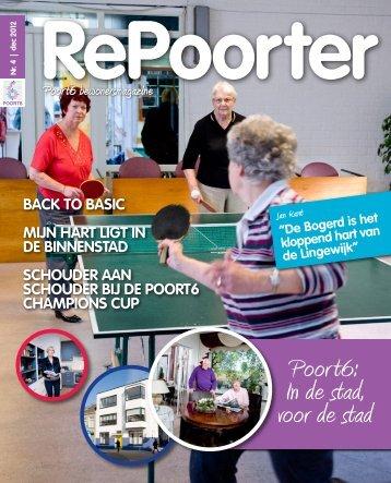 Bewonersmagazine Poort6, december 2012 - Wonen in Gorinchem