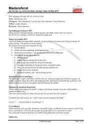 Referat 28 maj 2012