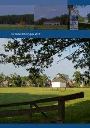 Dorpsvisie Echten, juni 2011 - echten ...kei van een dorp