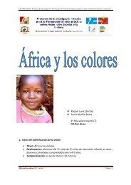 África y los colores - Quintanal