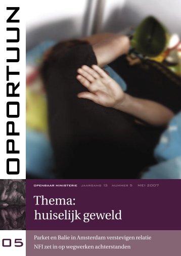 Opportuun mei 2007 - Huiselijk Geweld