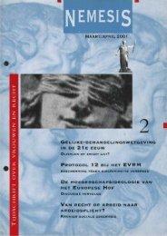 maart/april 2001 de moederschapsideologie van het ... - Nemesis