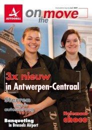 3x nieuw in Antwerpen-Centraal - Autogrill Belux