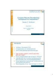 Congres Nieuwe Bouwbesluit, transparant en toepasbaar?