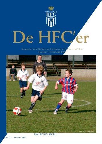 nr. 22. 9 maart 2009 - Koninklijke HFC