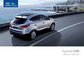 Brochure Hyundai ix35