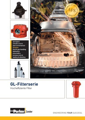 GL-Filterserie - AP Druckluftservice GmbH & Co. KG