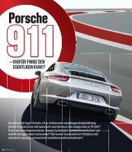 – vArför fiNNS deN egeNtligeN kvAr? - Porsche