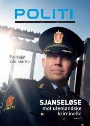 SJANSELØSE - Politiets Fellesforbund