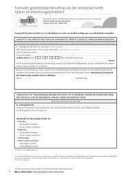 Download het aangifteformulier voor gedeeltelijke werkhervatting.