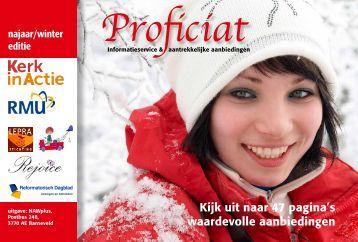 editie najaar 2010 - Proficiat