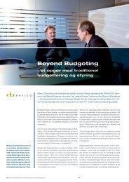 Beyond Budgeting - Basico
