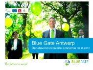 Dia 1 - Blue Gate Antwerp