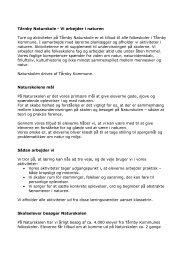 Tårnby Naturskole - Vi arbejder i naturen Ture ... - Tårnby Kommune