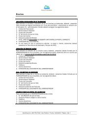 Formulario de requisitos - Aguas Cordobesas
