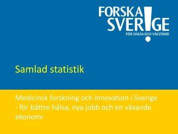 Samlad statistik - Forska!Sverige