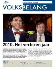 DECEMBEr 2010 - Het Volksbelang