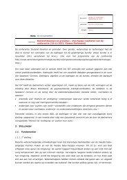 2011-11-22 Voorstellen Verdieping en actie - Instituut Samenleving ...