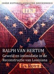 Ralph van Hertum (pdf) - Jonge Historici Schrijven Geschiedenis