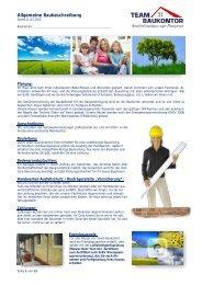 Allgemeine Baubeschreibung 3,5MB - Team-Baukontor