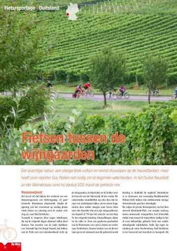 Fietsen tussen de wijngaarden (Guy Raskin) - VOS Travel