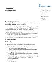 Grøftetilretning - Udbud - Vejdirektoratet