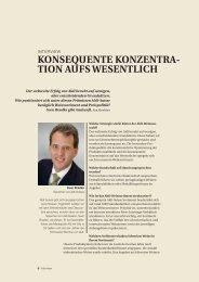 Konsequente Konzentration aufs Wesentliche - Stefan Keller