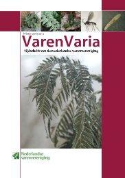 VarenVaria nr.3 2009 - Nederlandse Varenvereniging